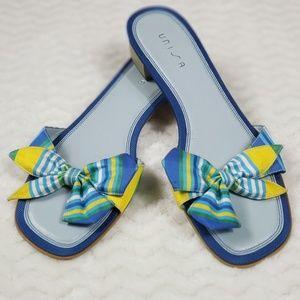 Unisa Fun Slip On Sandals Size 8